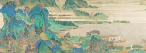 """Saying Farewell at Xunyang"", Qiu Ying, 1494-1552/ Photo Credits: The Nelson-Atkins Museum of Art, Kansas City"