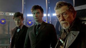 """El homenaje consistió en la proyección simultánea en 1.500 salas del episodio """"El día del Doctor"""""""