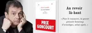 """El escritor parisino obtiene con """"Au Revoir Là-Haut"""" el más importante galardón en la tierra de Molière/ Photo Credits: Albin Michel Ed."""