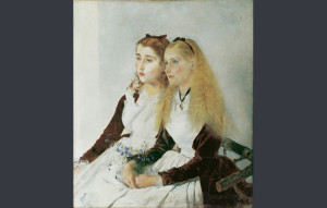 """The Artist's Nieces Elizabteh and Maja"", de Anton Romako/ Photo Credits: Belvedere, Viena"