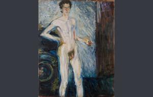 """Nude Self Portrait with Palette"", de Richard Gerstl/ Photo Credits: Leopold Museum, Private Foundation, Viena"