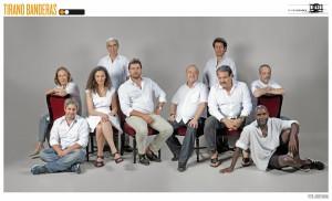 El reparto se compone de actores de distintas nacionalidades/ Photo Credits: Teatro Español y Javier Naval