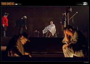 El escenario propuesto tiene inspiraciones barrocas y surrealistas/ Photo Credits: Teatro Español