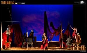 """El escritor gallego inauguró las novelas del Esperpento con """"Tirano Banderas""""/ Photo Credits: Teatro Español"""