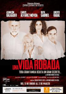 """El protagonista de """"Solas"""" representa """"Una vida robada"""" en el Teatro Fernán Gómez de Madrid/ Photo Credits: Teatro Fernán Gómez"""