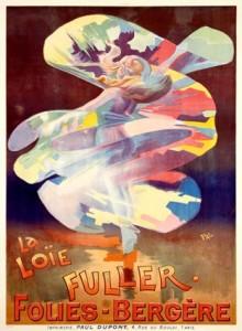 El baile de la serpentina adquirió enorme popularidad en el Folie Bergère