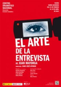 """""""El arte de la entrevista"""", en el Teatro María Guerrero"""