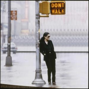 Yoko Ono define su espacio creativo en el Museo Guggenheim de Bilbao/ Photo Credits: Yoko Ono