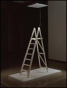 """Yoko Ono siempre ha mostrado interés por el arte conceptual/ Photo Credits: """"Pintura de techo, pintura del sí"""", 1966, Yoko Ono"""