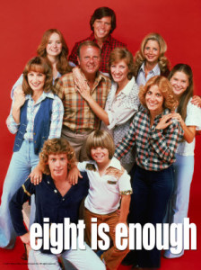 "Las series de ""Eight Is Enough"" se prolongaron por cinco temporadas"
