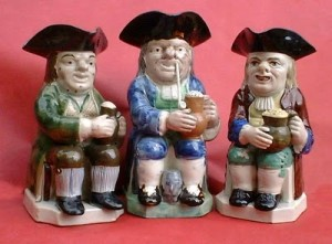 Las jarras de Toby son piezas muy admiradas en Reino Unido