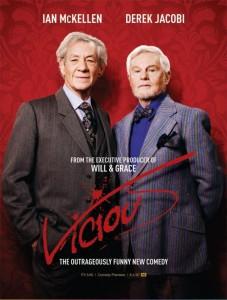 """Jacoby (derecha) y McKellen exhiben su talento interpretativo en """"Vicious"""""""