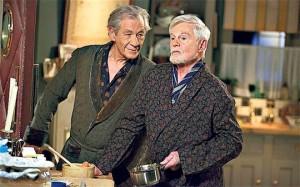 Las actuaciones de McKellen y Jacobi recuerdan a las llevadas a cabo por Lemmon y Matthau, y Harrison y Burton