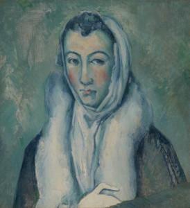 """El Greco, visto por Cézanne y su recreación de """"La dama de armiño""""/ Photo Credits: Museo del Prado"""
