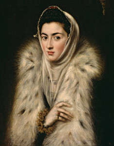 """El Greco compuso uno de los mejores retratos femeninos de la Historia con """"La dama de armiño""""/ Photo Credits: Museo del Prado"""