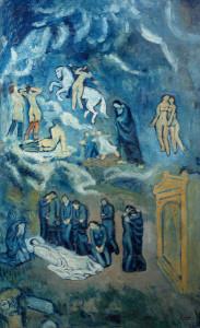 El Greco también fue objeto de inspiración en la obra de Pablo Picasso/ Photo Credits: Sucesión Pablo Picasso, VEGAP, Madrid, 2014