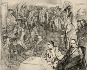 """Zuloaga fue uno de los mayores valedores del Greco con piezas como """"Mis Amigos""""/ Photo Credits: Ignacio Zuloaga, VEGAP, Madrid, 2014"""