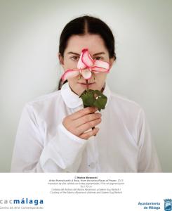 """Marina Abramovic exhibe su evolución artística en """"Holding Emptiness""""/ Photo Credits: Marina Abramovic y CAC de Málaga"""