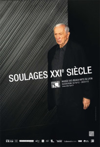Pierre Soulages es un artista al que no le agrada quedarse en el pasado