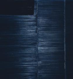 Las piezas de Pierre Soulages seleccionadas para la muestra corresponden al período entre 1979 y 2011