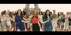 """Vanessa Paradis (en el centro) es una de las """"filles"""" ideadas por Audrey Dana"""