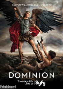 Dominion narra el enfrentamiento entre el arcángel Gabriel y la urbe de Vega