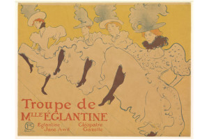 Toulouse-Lautrec desarrolló con sus carteles un compendio de la vida nocturna en la capital del país de La Marsellesa