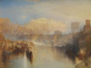 """Ancient Rome; Agrippina Landing with the Ashes of Germanicus"", de Joseph Mallord William Turner/ Photo Credits: tate.org.uk"