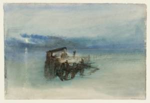 """Fishermen on the Lagoon, Moonlight"", 1840, por Joseph Mallord William Turner/ Photo Credits: tate.org.uk"