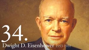 Dwight D. Eisenhower era el presidente que gobernaba USA durante el caso del U-2