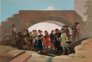 """Goya se situó entre las preferencias de la Corte con sus escenas costumbristas/ Photo Credits: """"La boda"""", Museo del Prado"""