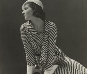 Nathalie Paley Wearing A Dress Designed, by Lucien Lelong/ Photo Credits: Rijksmuseum y Lucien Lelong