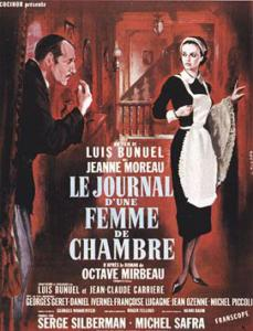 La novela de Octave Mirbeau fue adaptada al cine por luis Buñuel en 1964