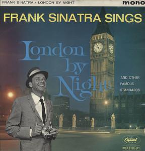 El recopilatorio de Frank Sinatra muestra la intensa relación del cantante con la capital de Gran Bretaña