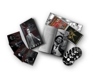 Frank Sinatra comparece ante sus fans a lo largo de tres CDs, un DVD y un libro de sesenta páginas