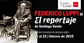 Federico Luppi encarna a uno de los máximos responsables de la represión cultural en el gobierno de Videla