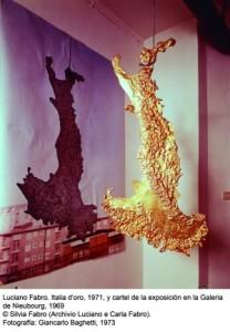 """Luciano Fabro fue uno de los pilares del denominado """"Arte Povera""""/ Photo Credits: Museo Nacional Centro de Arte Reina Sofia"""