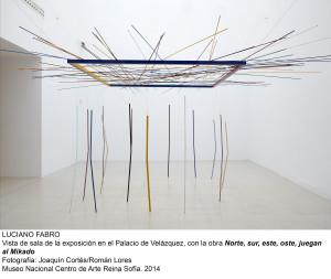 Luciano Fabro logró idear espacios propios y renovadores/ Photo Credits: MNCARS