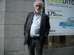 Javier Krahe no es partidario de interactuar con su público/ Photo Credits: Jesús Martín