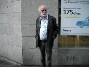 Javier Krahe aún recuerda a Tierno Galbán como el hombre que cerró La Mandrágora/ Photo Credits: Jesús Martín