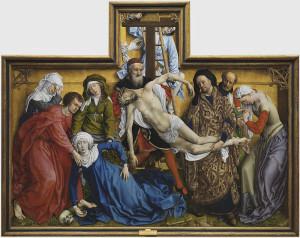 Rogier van der Weyden ilustró una visión más humana de los episodios bíblicos