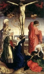Rogier van der Weyden llegó a ser el pintor oficial de Bruselas, en 1435
