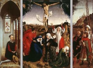 """""""El Tríptico de la Crucifixión"""", de Rogier van der Weyden, es una obra cargada de sensibilidad y misterio"""