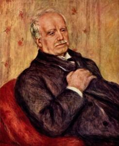Paul Durand-Ruel (en la imagen, retrato de él elaborado por Renoir) estuvo a punto de arruinarse más de una vez con sus aventuras artísticas