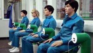 """Los ocho episodios de """"Humans"""" tienen una cierta atmósfera coincidente con """"Un mundo feliz"""""""