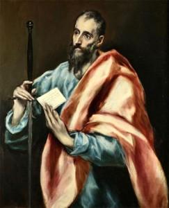 Pedro Miguel Lamet piensa que El Greco fue quien mejor captó la humanidad de Pablo de Tarso