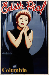 Édith Piaf es la estrella en la urbe del Louvre hasta el próximo 23 de agosto/ Photo Credits: Bibliotèque National de France