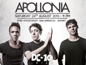 El trío Apollonia presentará en el Sziget su dance de laboratorio