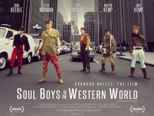 "Spandau Ballet son los protagonistas del documental ""Soul Boys Of The Western World"", de George Hencken"