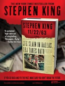 La novela de Stephen King transita vertiginosamente entre la ciencia ficción y el terror